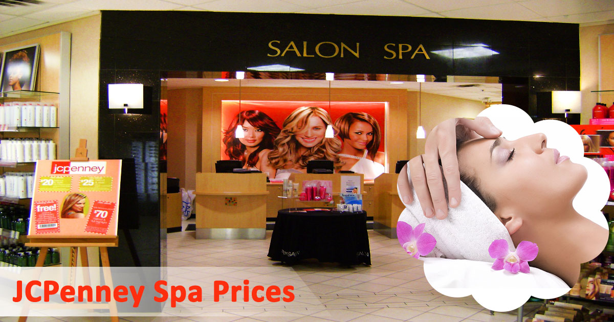 JCPenney Spa Prices image