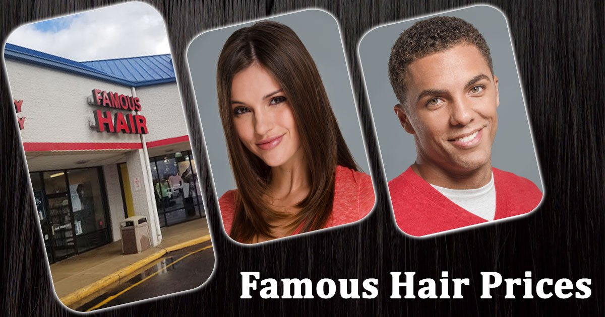 Famous Hair Prices Image