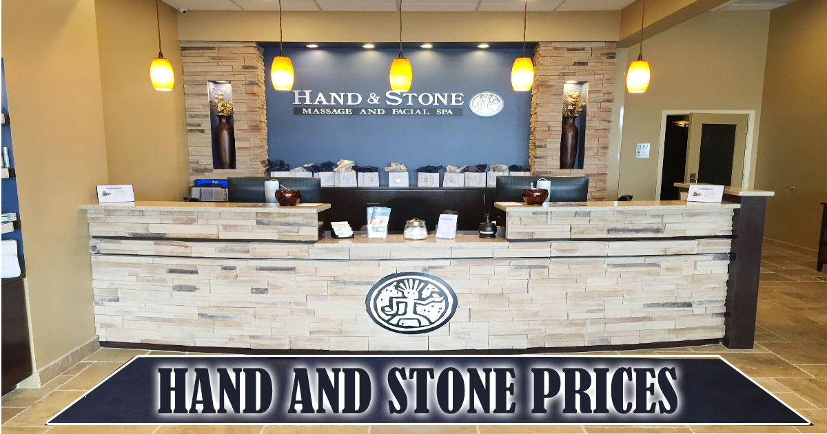 Hand And Stone Prices Image