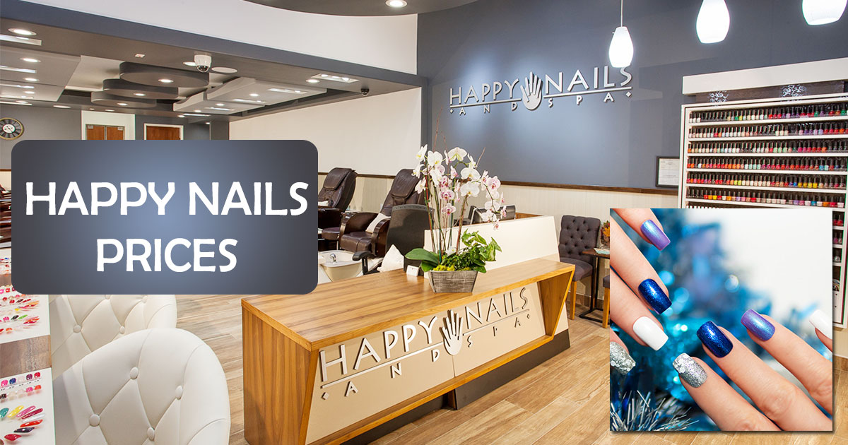Happy Nails Prices Image