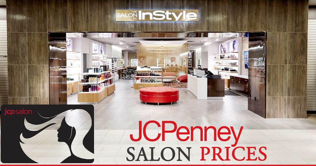 JCPenney Salon Prices image