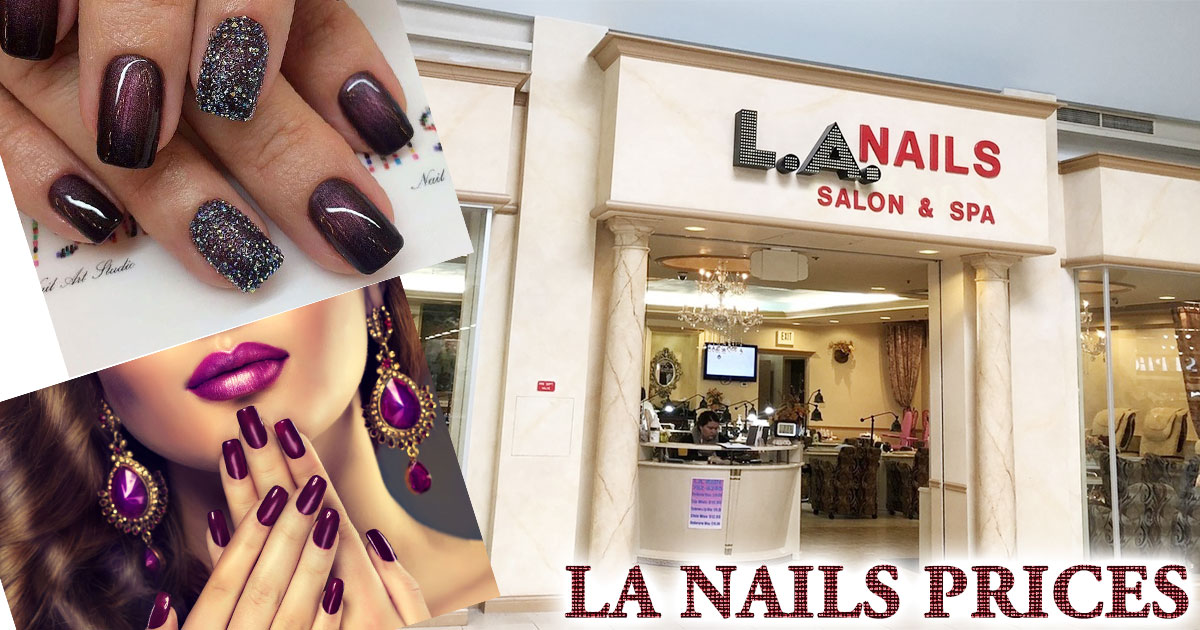 LA Nails Prices Image
