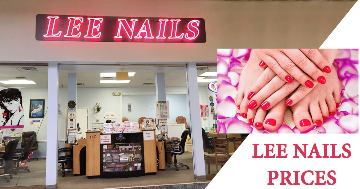 LEE Nails Prices Image