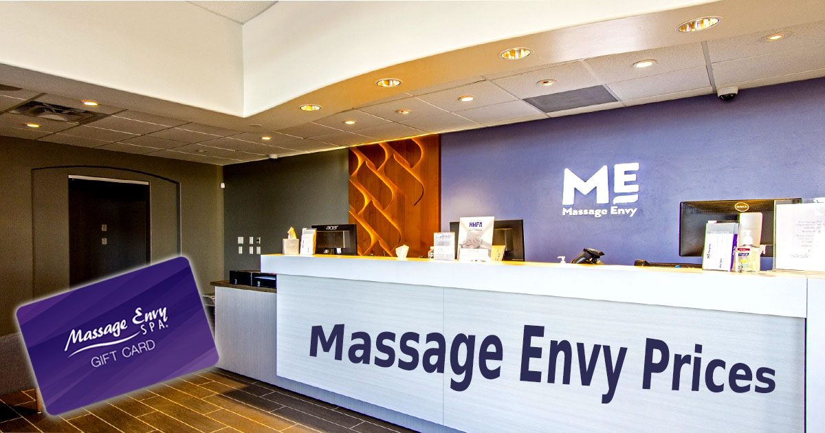 Massage Envy Prices Image