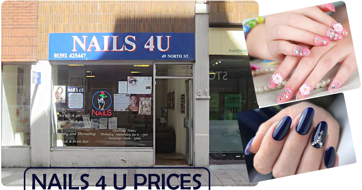 Nails 4 U Prices Image