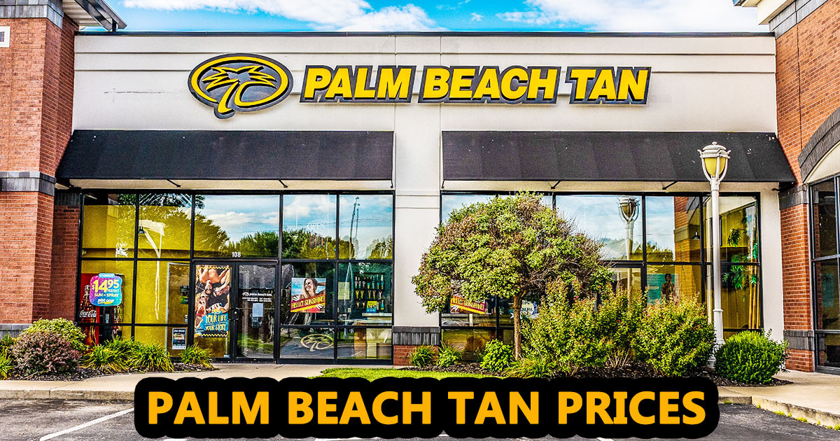 Palm Beach Tan Prices image