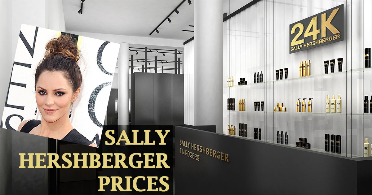 Sally Hershberger Prices image
