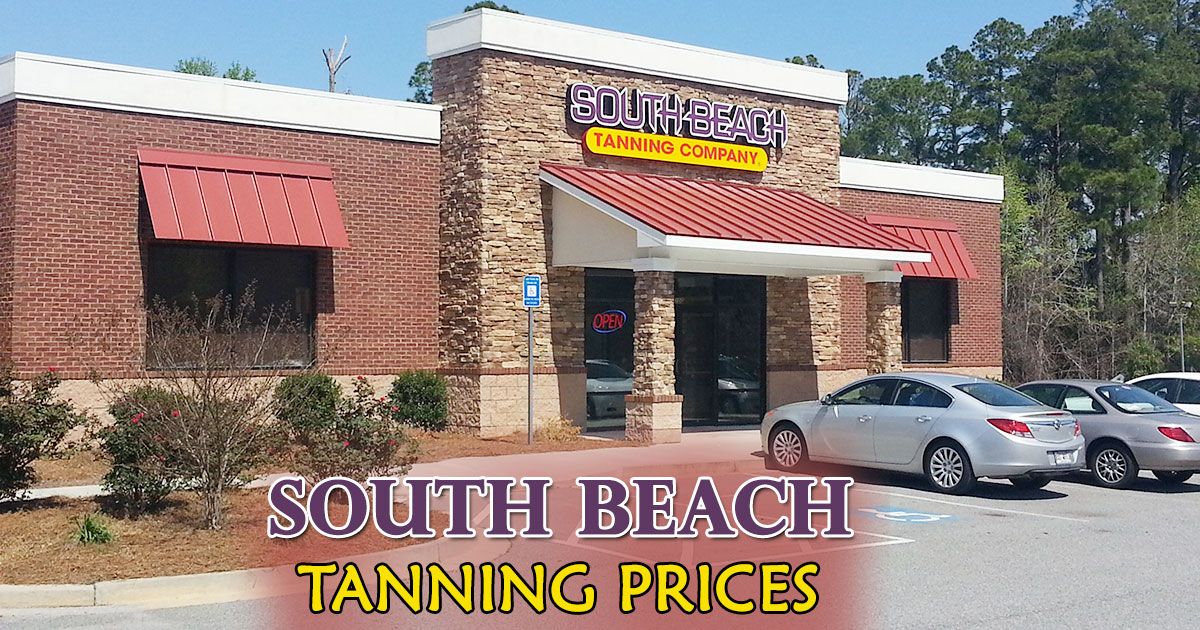 South Beach Tanning Prices image
