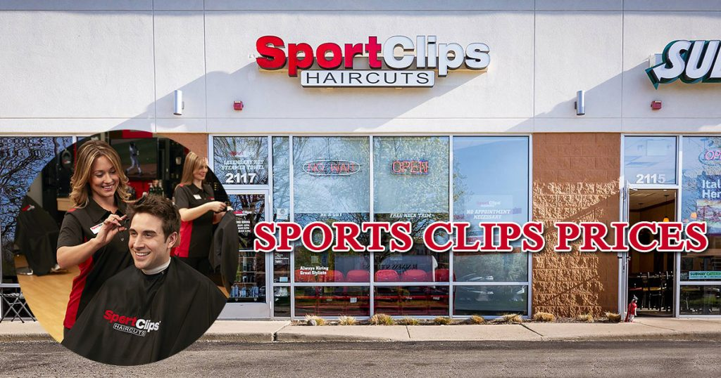 Sports Clips Prices image