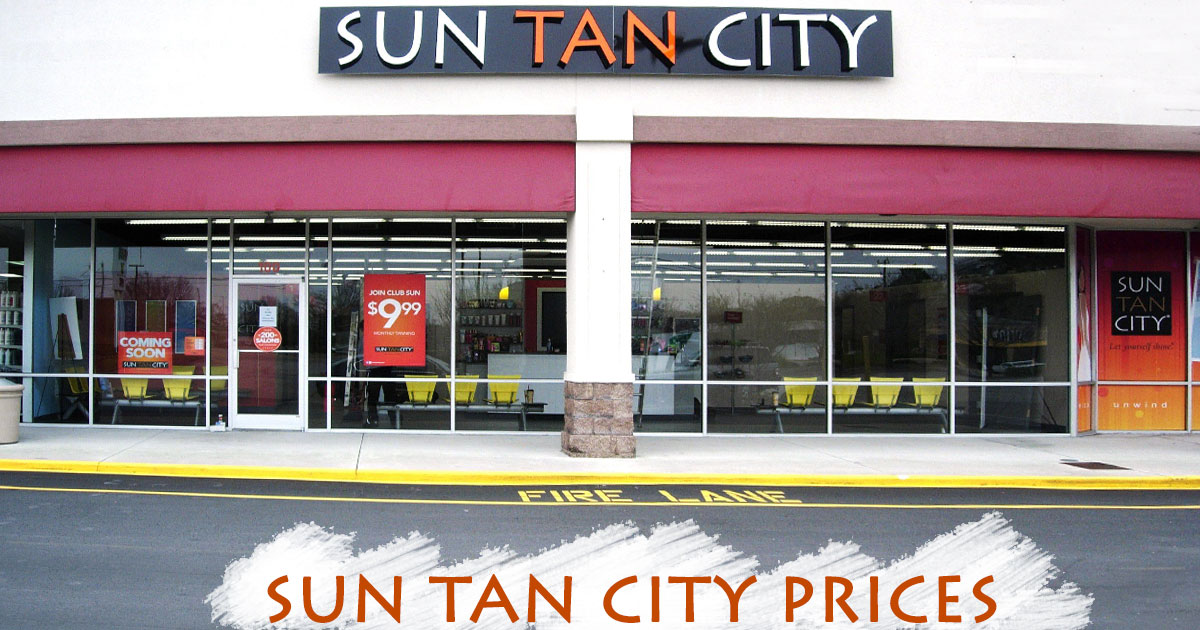 Sun Tan City Prices Image
