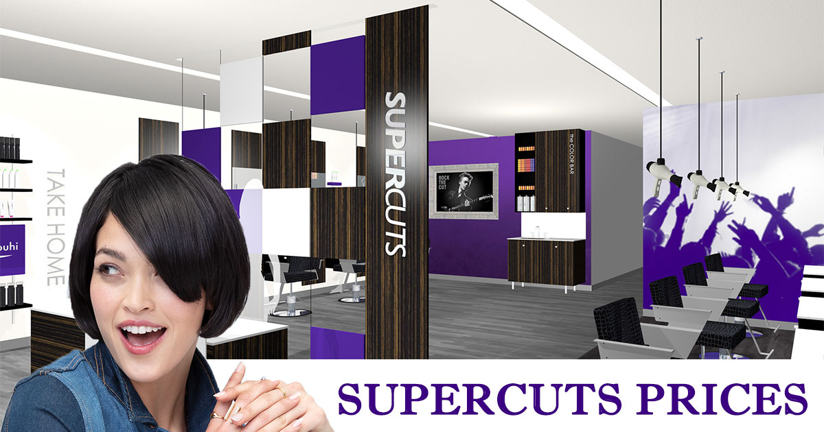 Supercuts Prices image